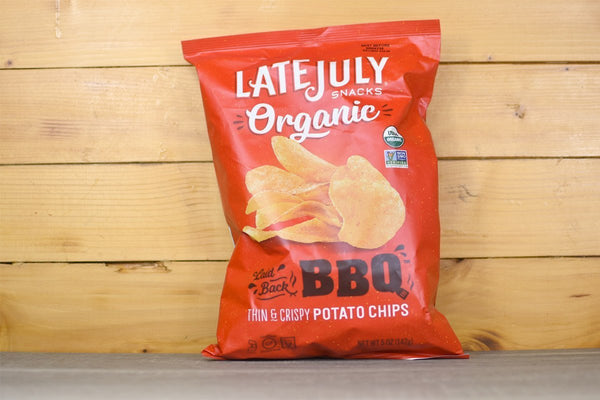 Late July Organic BBQ Potato Chips 142g Pantry > Chips & Savoury Snacks