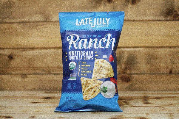 Late July Organic Dude Ranch Multigrain Chips 5.5oz Pantry > Cookies, Chips & Snacks