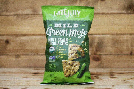 Late July Organic Mild Green Mojo Multigrain Chips 5.5oz Pantry > Cookies, Chips & Snacks