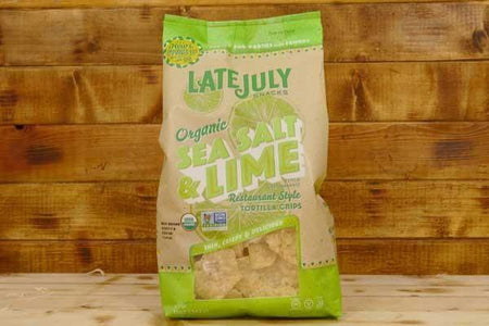Late July Organic Sea Salt and Lime Tortilla Chips 11oz Pantry > Cookies, Chips & Snacks