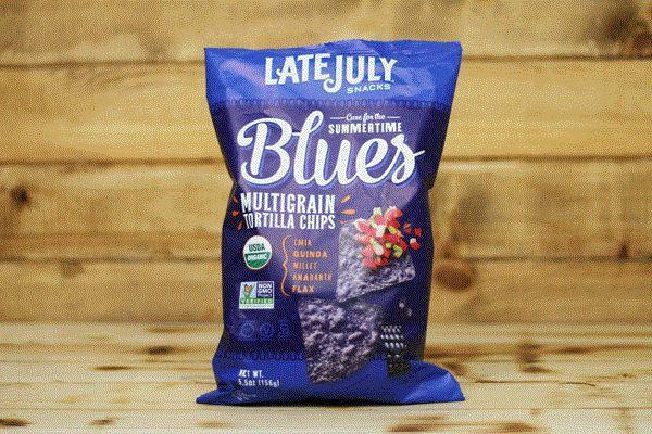 Late July Organic Summertime Blues Multigrain Chips 5.5oz Pantry > Cookies, Chips & Snacks