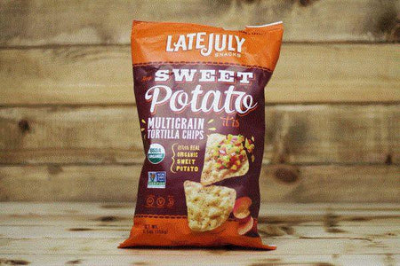 Late July Organic Sweet Potato Multigrain Chips 5.5oz Pantry > Cookies, Chips & Snacks