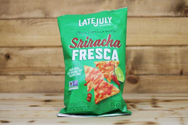Late July Sriracha Fresca Tortilla Chips 5.5oz Pantry > Cookies, Chips & Snacks
