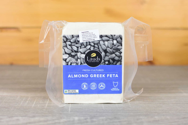 Lauds Lauds Almond Greek Feta 200g Dairy & Eggs > Cheese