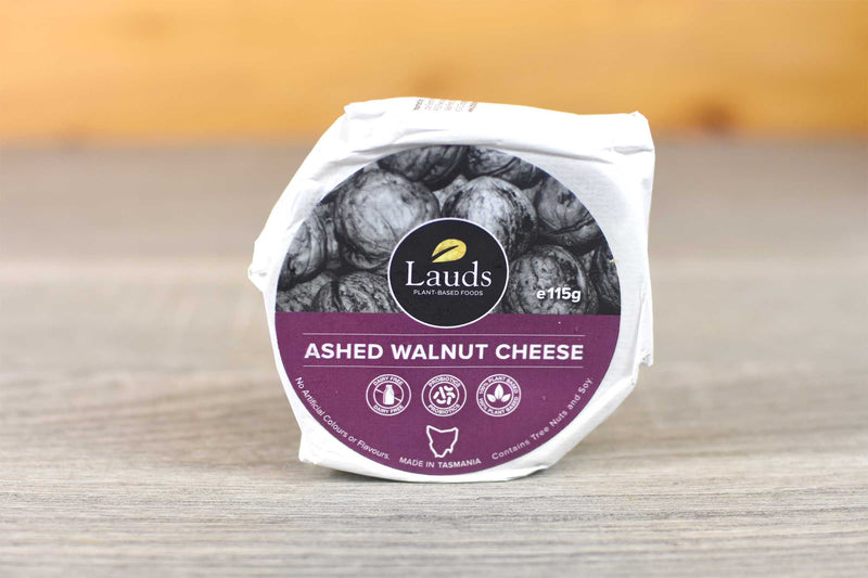 Lauds Lauds Ashed Walnut Cheese 115g Dairy & Eggs > Cheese
