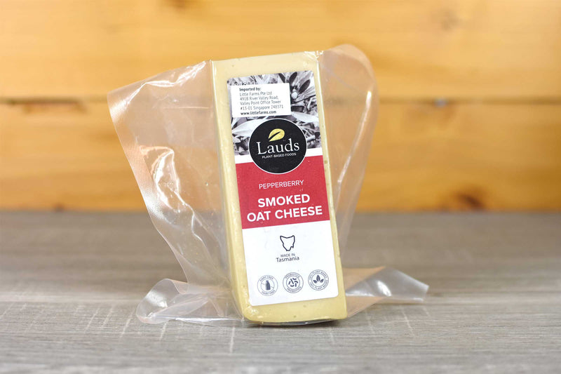 Lauds Lauds Smoked Oat Cheese 180g Dairy & Eggs > Cheese