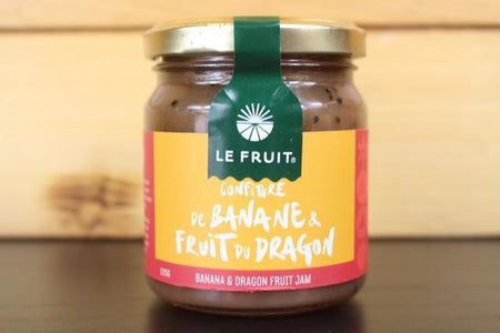 Le Fruit LE Banana & Dragonfruit Jam 225g Pantry > Nut Butters, Honey & Jams