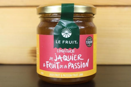 Le Fruit LE Jack Fruit & Passionfruit Jam 225g Pantry > Nut Butters, Honey & Jams