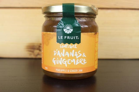 Le Fruit LE Pineapple & Ginger Jam 225g Pantry > Nut Butters, Honey & Jams