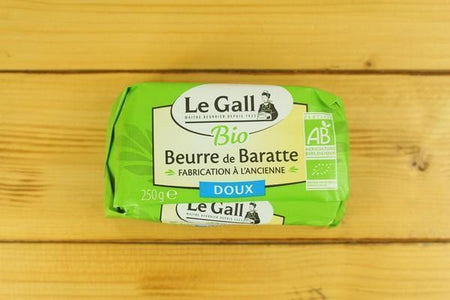 Le Gall Organic Butter Unsalted 250g Dairy & Eggs > Butter