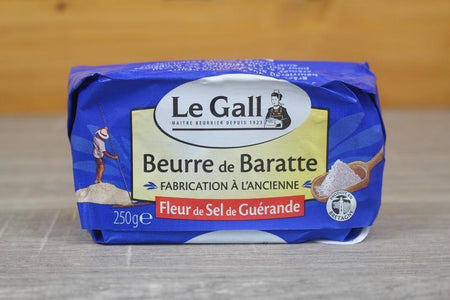 Le Gall Sea Salt Drum Guerande Churning Butter 250g Dairy & Eggs > Butter