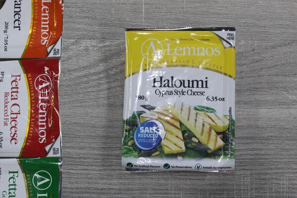 Lemnos Haloumi Reduced Salt 150g Dairy & Eggs > Cheese