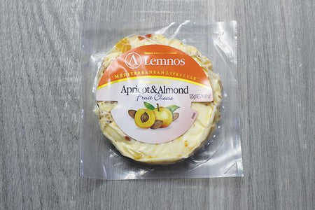Lemnos Lemnos Cream Cheese Apricot Almond 125g Dairy & Eggs > Cheese