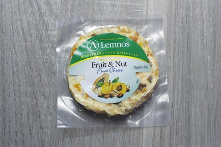 Lemnos Lemnos Cream Cheese Fruit Nut 125g Dairy & Eggs > Cheese