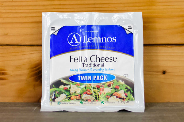 Lemnos Lemnos Feta Twin Pack 2 x 100g Dairy & Eggs > Cheese