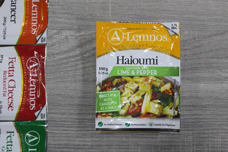 Lemnos Lemnos Haloumi Lime/Pepper 180g Dairy & Eggs > Cheese