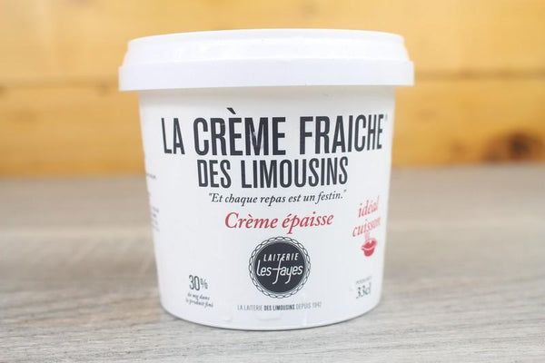 Les Fayes Thick Fresh Cream 30% 300ml Dairy & Eggs > Other Creams & Cheeses