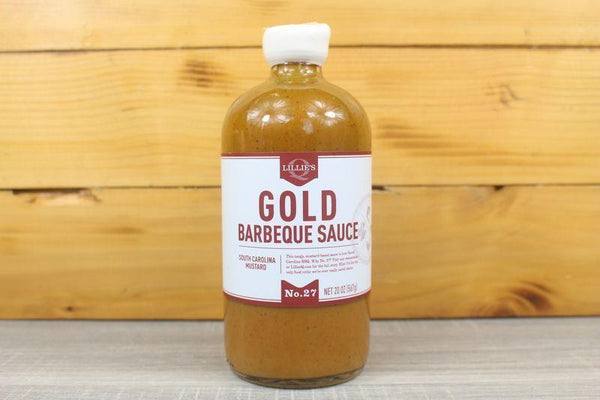 Lillie's Q Gold BBQ Sauce 567g Pantry > Condiments