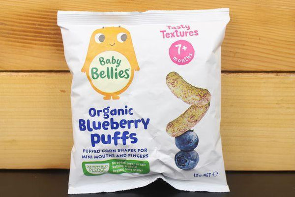 Little Bellies Little Bellies Blueberry Puffs 12g Pantry > Baby Food & Kids Corner