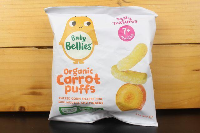 Little Bellies Little Bellies Carrots Puffs 12g Pantry > Baby Food & Kids Corner
