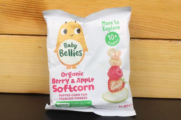 Little Bellies Little Bellies Corn Berry Apple 8g Pantry > Baby Food & Kids Corner
