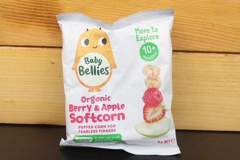 Little Bellies Corn Banana 8g
