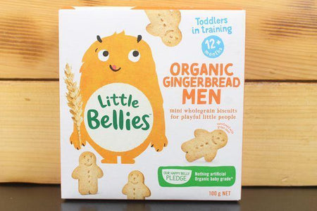 Little Bellies Little Bellies Gingerbread Men 100g Pantry > Baby Food & Kids Corner