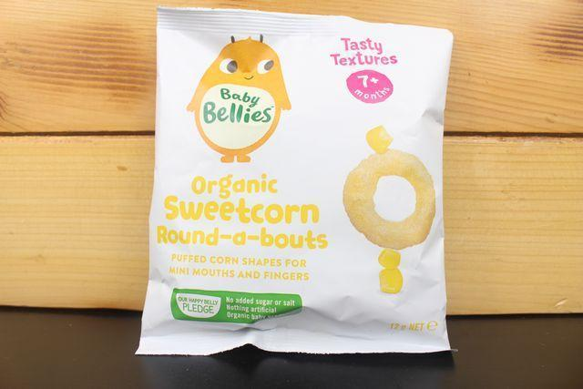 Little Bellies Little Bellies Roundabouts Corn 12g Pantry > Baby Food & Kids Corner