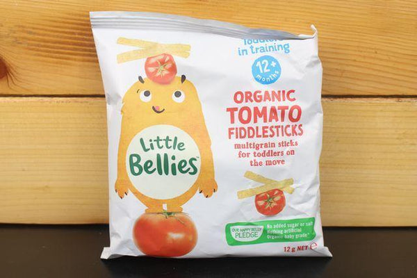 Little Bellies Little Bellies Tomato Fiddlesticks 12g Pantry > Baby Food & Kids Corner