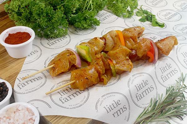 Little Farms Chicken Kebab (each) Meat > Poultry
