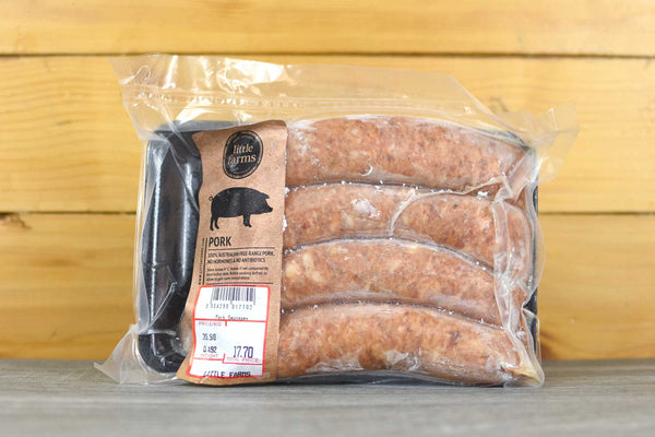 Little Farms Frozen Pork Sausages 500g Meat > Sausage