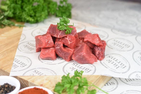 Little Farms King Island Diced Beef 250g