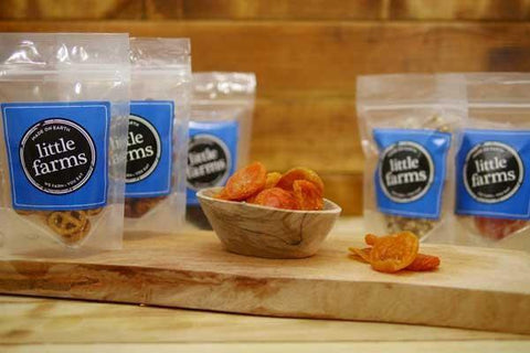 Little Farms Produce Australian Apricot Halves 80g Pantry > Dried Fruit & Nuts