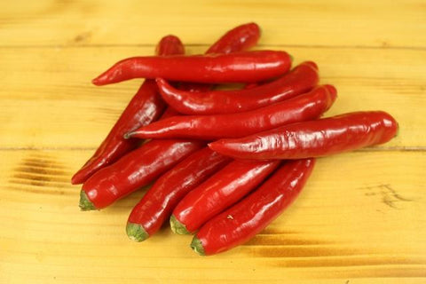 Chillies Long Green 150g