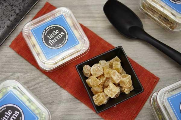 Little Farms Produce Crystallised Ginger 170g Pantry > Dried Fruit & Nuts