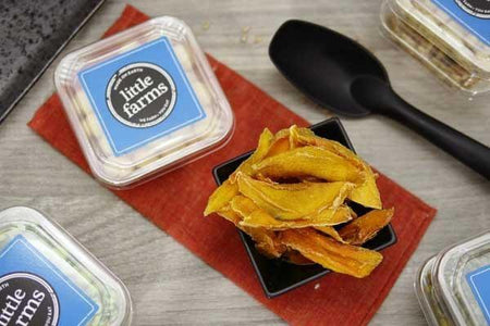 Little Farms Produce Dried Natural Mango Strips 120g Pantry > Dried Fruit & Nuts