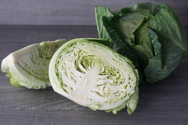 Little Farms Produce Half Green Cabbage (each)* Produce > Vegetables