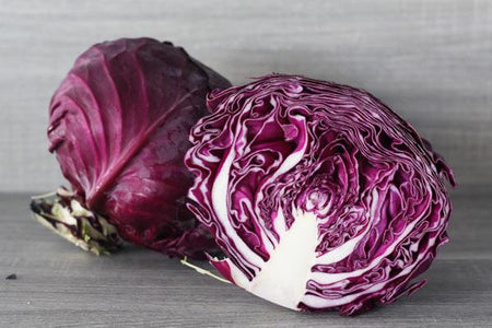 Little Farms Produce Half Purple Cabbage (each)* Produce > Vegetables