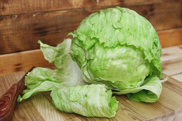 Little Farms Produce Iceberg Lettuce (Whole) Produce > Vegetables