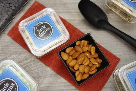 Little Farms Produce Natural Almonds 180g Pantry > Dried Fruit & Nuts