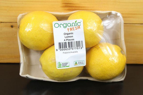 Little Farms Produce Organic Lemon 4 pack Produce > Fruit