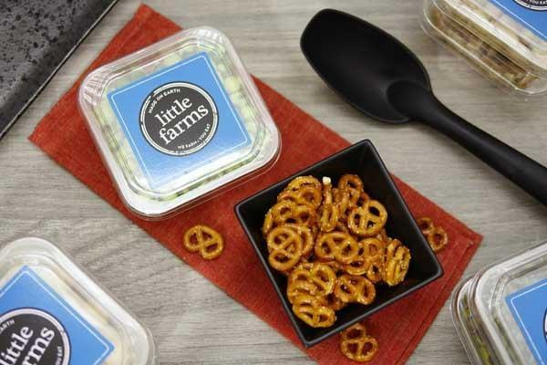 Little Farms Produce Pretzels Mini Knots 60g Pantry > Dried Fruit & Nuts