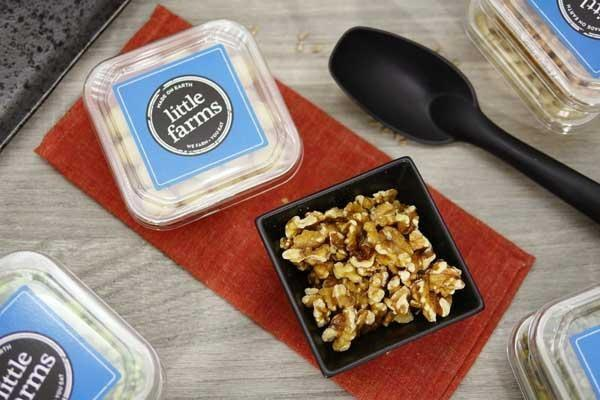 Little Farms Produce Walnuts Light Halves 100g Pantry > Dried Fruit & Nuts