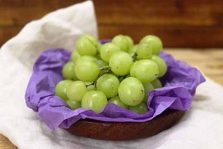 Little Farms Produce White Seedless Grapes 500g Produce > Fruit
