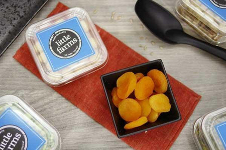 Little Farms Produce Whole Pitted Apricots 180g Pantry > Dried Fruit & Nuts