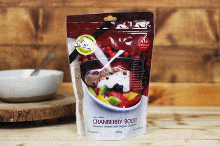 Lively Linseed Products Cranberry Boost 400g Pantry > Granola, Cereal, Oats & Bars