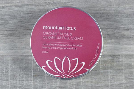 Lively Linseed Products Rose & Geranium Face Cream Personal Goods > Beauty