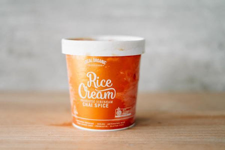 Local Organic Producers Organic Chai Spice Ice Cream 500ml Freezer > Ice Cream