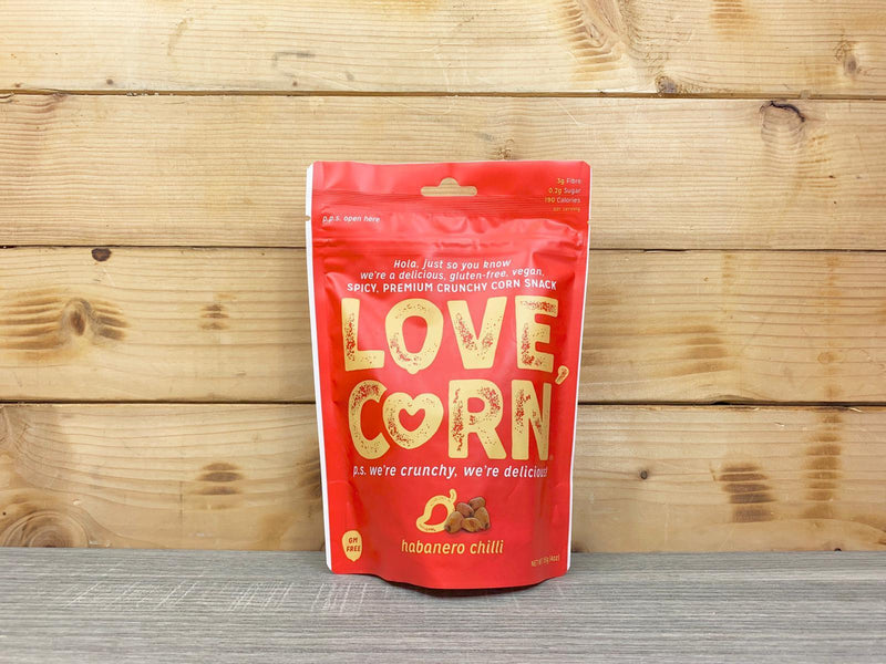 Love Corn Habanero Chilli Roasted Corn 115g Pantry > Cookies, Chips & Snacks