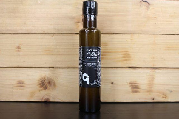 Luca Ciano Citrus Sicilian EVOO Dressing 250ml Pantry > Fresh Sauces, Condiments & Dressings
